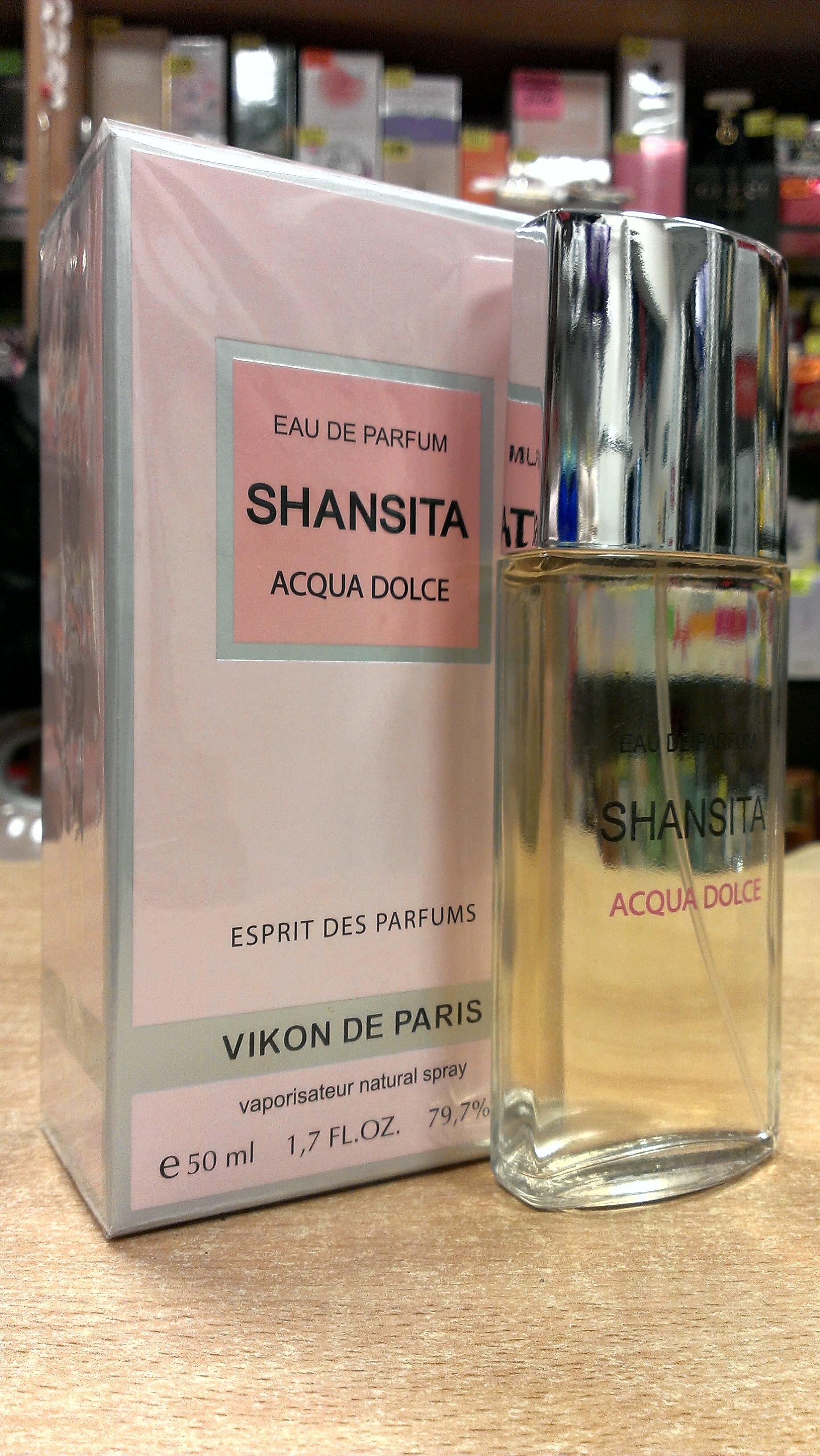 женская парфюмерная вода   Дух Духов  Шансита Acqua Dolce  50 мл.