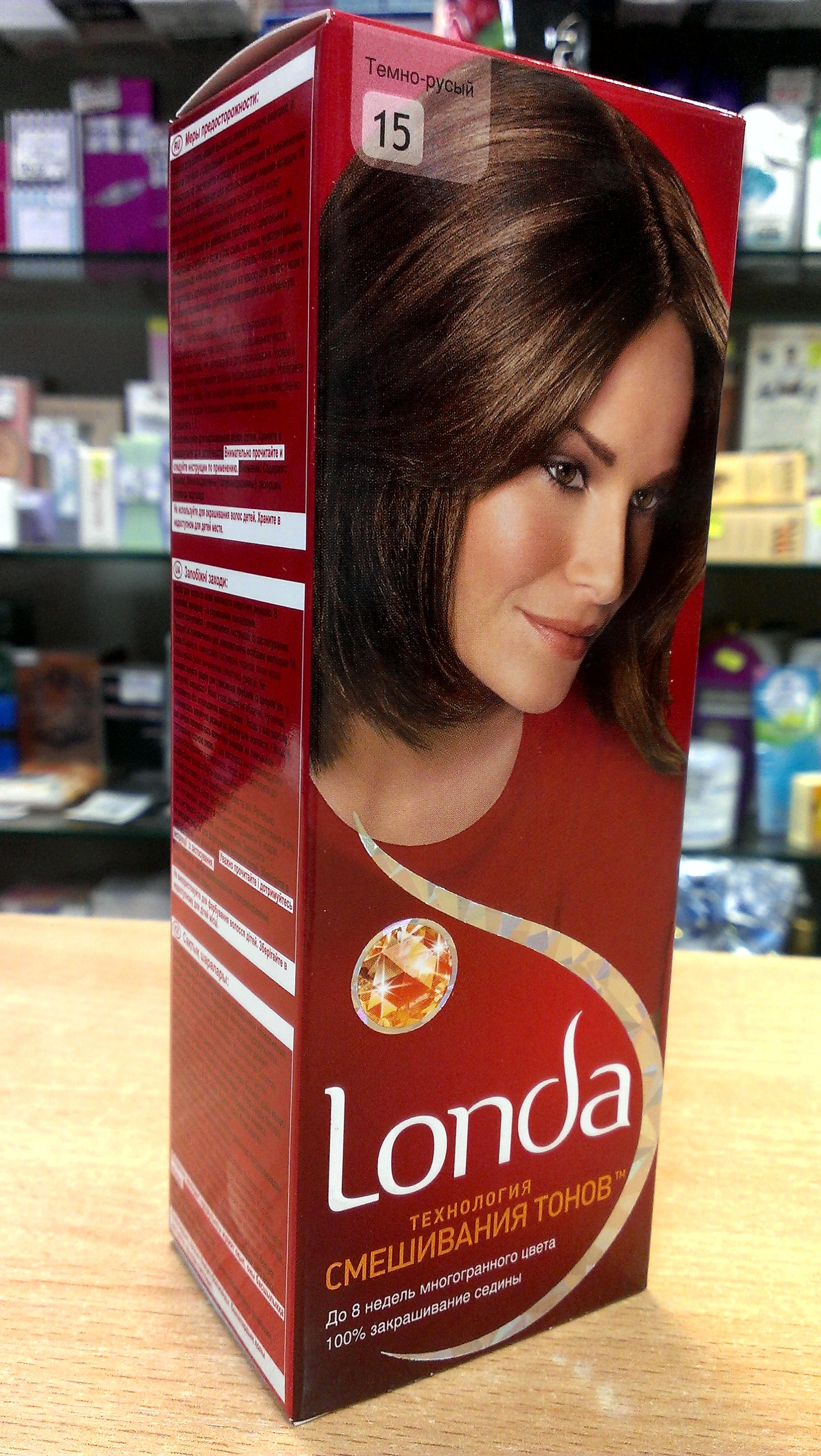 Лонда тёмно-пепельный фото на волосах