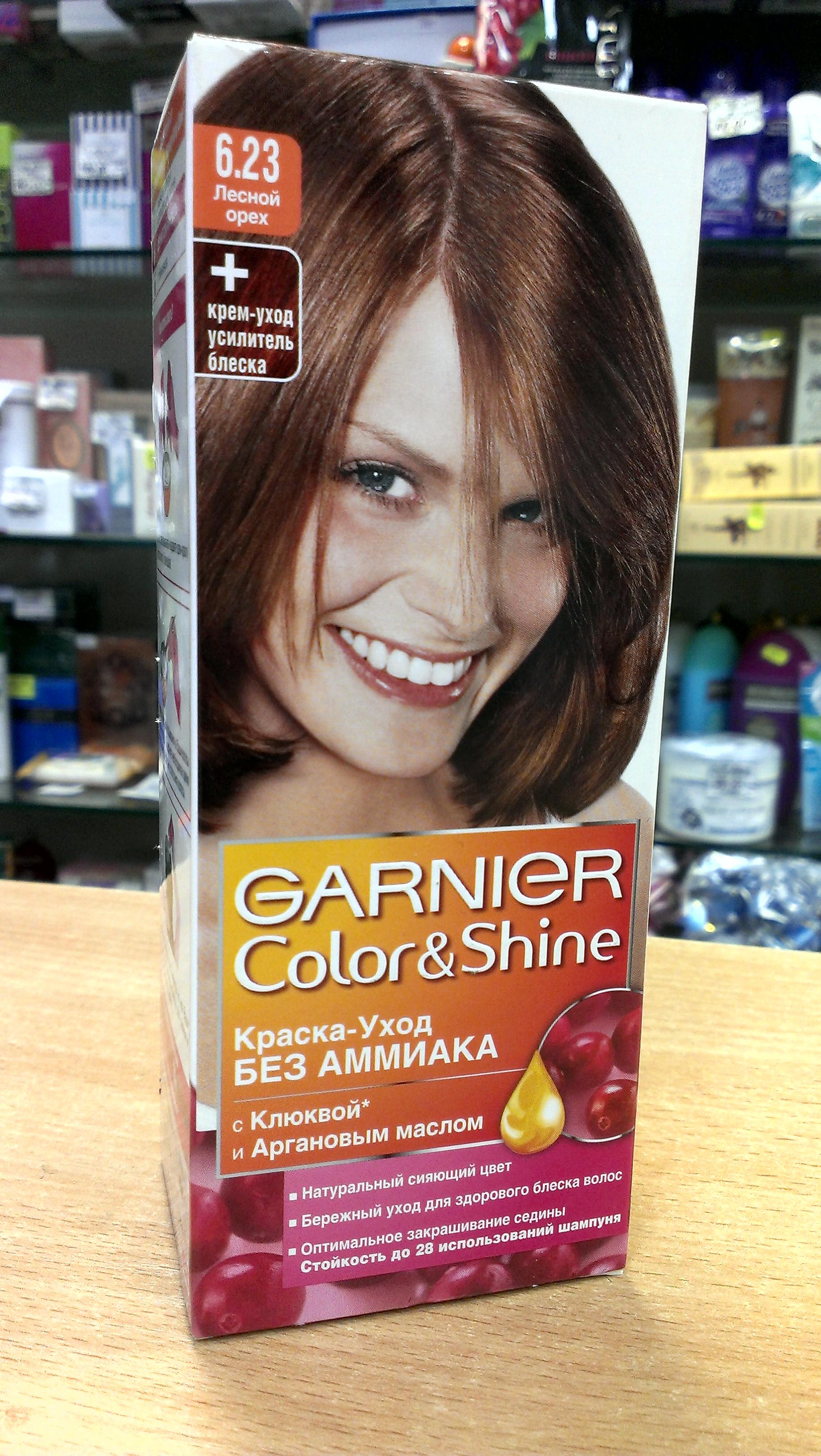 Краска для волос гарньер колор и шайн палитра цветов фото