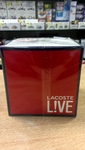 Lacoste live мужская туалетная вода