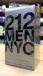 CAROLINA HERRERA 212 Men NYC Мужская туалетная вода