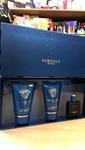VERSACE Eros - 650 руб. Подарочный набор для Мужчин: Туалетная вода (5 ml) + Гель для душа (25 ml) + Бальзам после бритья (25 ml) Производитель: Италия